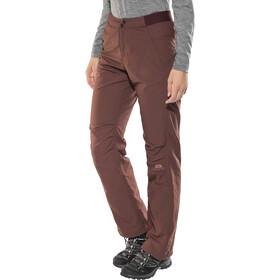 Mountain Equipment Inception Pantalones Mujer, dark chocolate